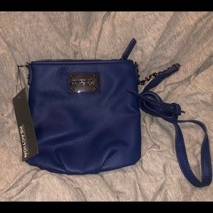 Kenneth Cole blue crossbody bag new